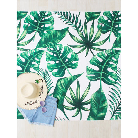 Palm Print Beach Roundie