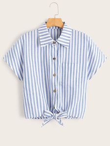 7f8b452a8d6 Women's Blouses & Shirts Online - Anabella (Anabella's Fashion) - Knot