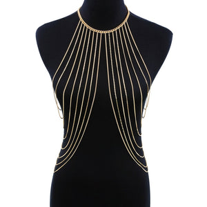 Halter Layered Body Chain