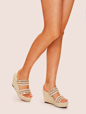 Tribal Pattern Wedges
