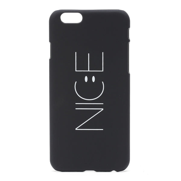 Black Letter Print iPhone Case - Anabella's