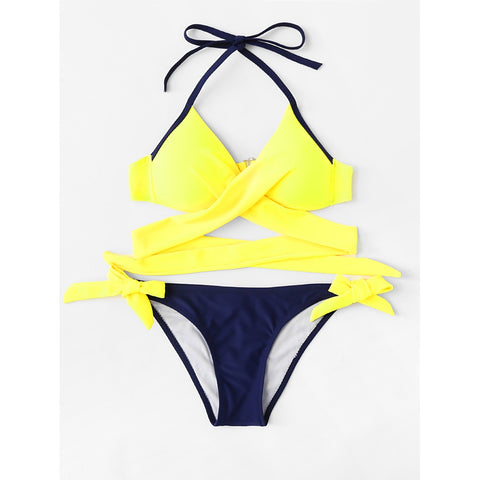 Crossover Mix & Match Bikini Set