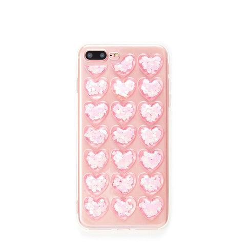 Heart Pattern iPhone Case - Anabella's