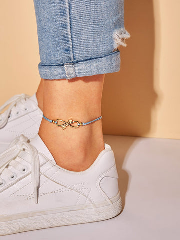 Infinity Detail Anklet 1pc