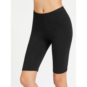 Elastic Waist Short Leggings
