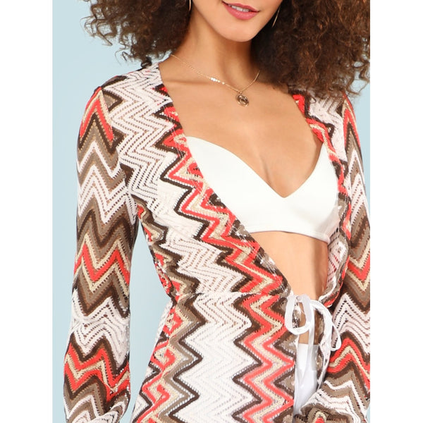 Chevron Pattern Cover Up