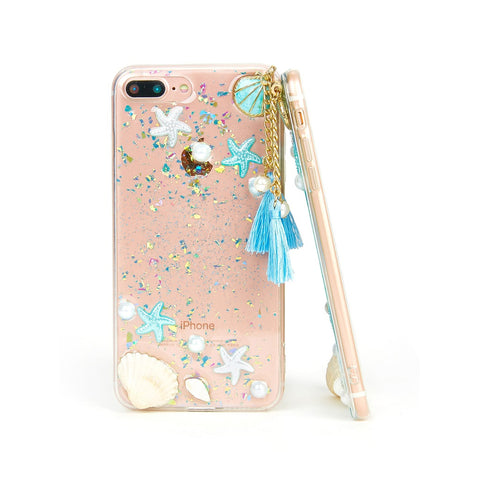 Starfish & Shell Pattern iPhone Case - Anabella's