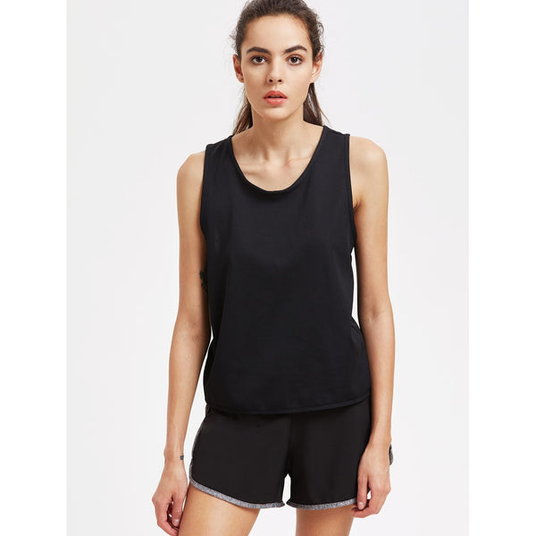 Wrap Back Sports Top - Anabella's
