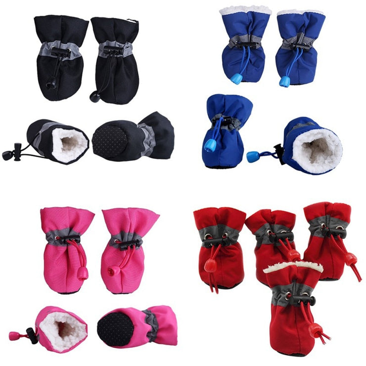 Waterproof Anti Slip Dog & Cat Pet Winter Shoes - LANOOVA STORE