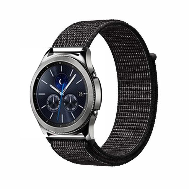 Samsung Galaxy Watch S3 Gear Frontier Classic Nylon Band 20mm & 22mm - LANOOVA STORE