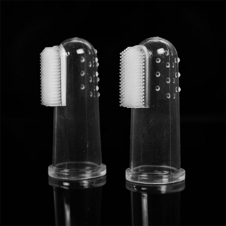 DOG TOOTH BRUSH FINGER FIT - LANOOVA STORE