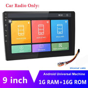 "AMPrime 9"" Android Car Radio 2 Din Multimedia Player GPS Navigation Auto Stereo WIFI Bluetooth FM Video Player Mirrorlink Camera - LANOOVA STORE"