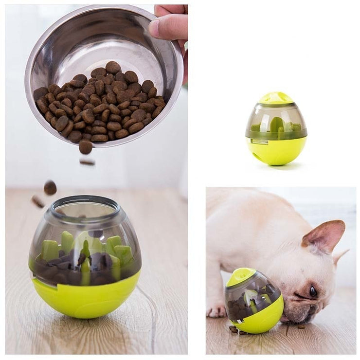 DOG FOOD BALL BOWL - LANOOVA STORE