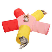 FOLDABLE PET CAT TUNNEL - LANOOVA STORE