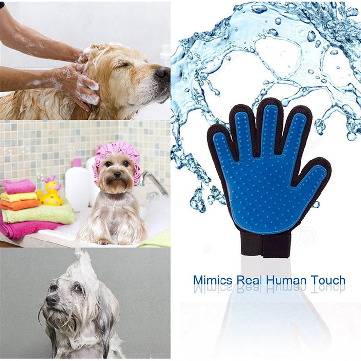 SILICONE BRUSH PET HAIR REMOVAL - LANOOVA STORE