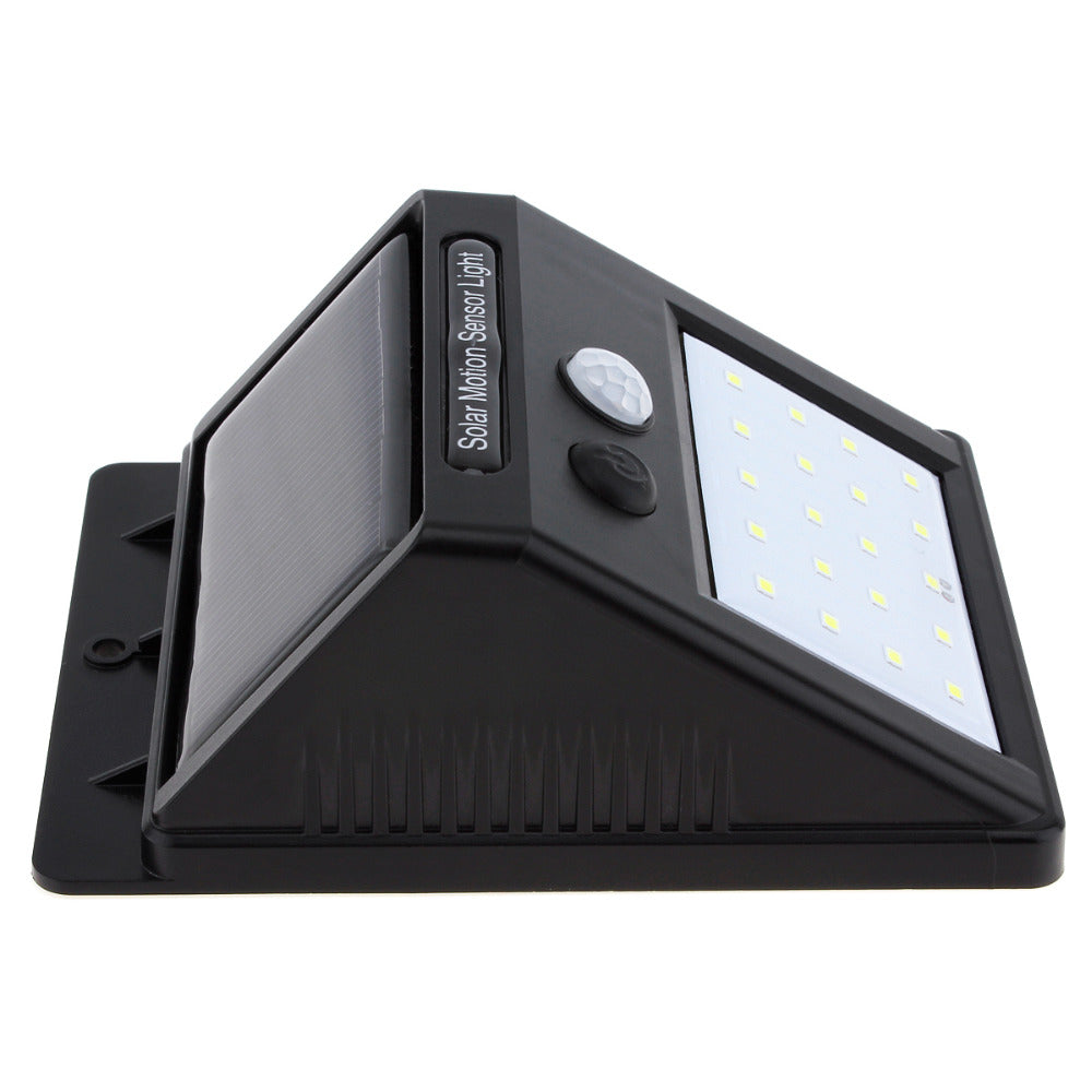 Solar Power Led Wall Light With Pir Motion