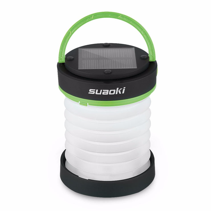 Suaoki Solar Panel 800mAh Torch Lantern Collapsible Flashlight with USB - LANOOVA STORE