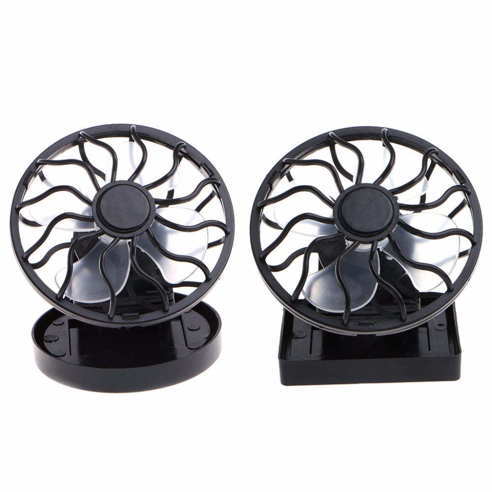 Solar Powered Mini Portable Clip-On Cooling Fan - LANOOVA STORE