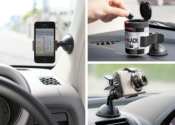 Ularmo Universal Car Windshield Mount For iPhone X/6S/SE/7 & Samsung Galaxy Note Edge - LANOOVA STORE