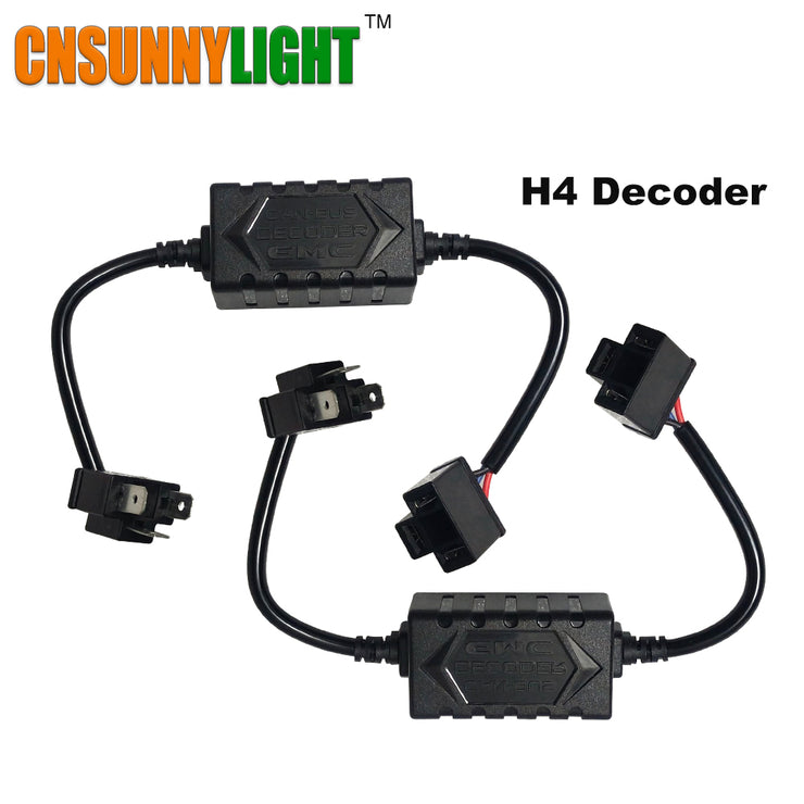LED Decoder Resistor Harness Adapter For Headlighgts - LANOOVA STORE