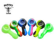 Silicone Smoking Pipes With Glass Bowl - LANOOVA STORE