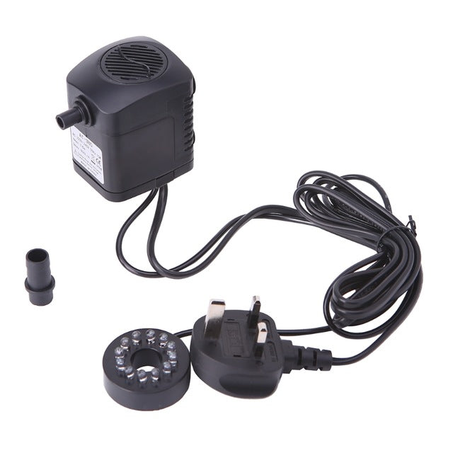 LED Light Submersible Water Pump For Pond And Pool - LANOOVA STORE