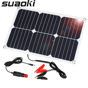 Suaoki 18V 18W Solar Panel Car Battery Charger & Maintainer - LANOOVA STORE