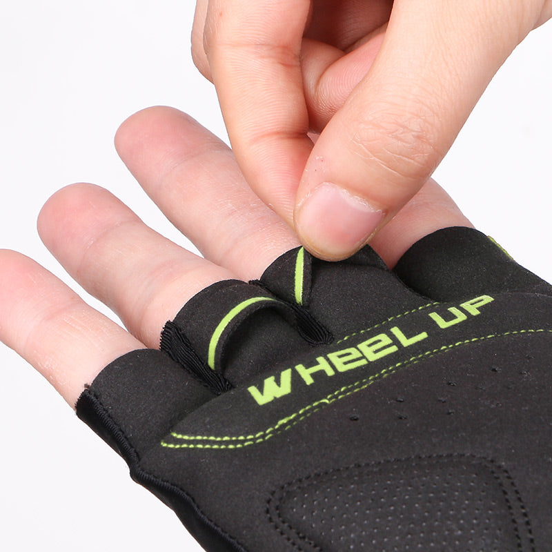 Shockproof Half-Finger Cycling Gloves - LANOOVA STORE