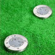 Solar Powered LED Disk Lights - LANOOVA STORE