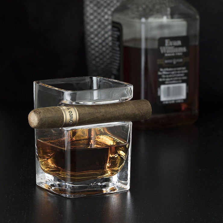 Cigar Holder Whiskey Glass - LANOOVA STORE