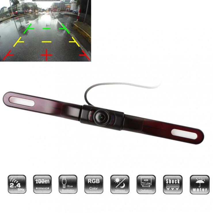 License Plate Mounted Reverse Camera - LANOOVA STORE