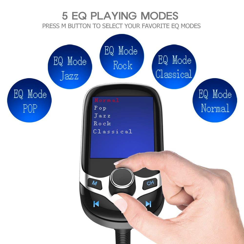 Bluetooth FM Transmitter Handsfree Car Kit - LANOOVA STORE