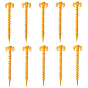 CampLite Nylon Screw Stake (10 Pack) - LANOOVA STORE