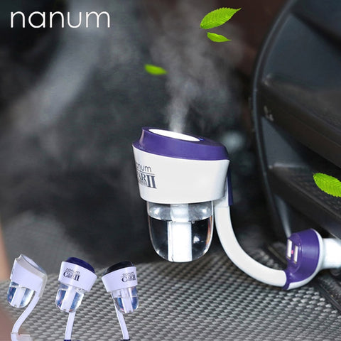 Air Humidifier Car Air Purifier