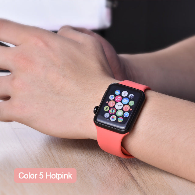 ProBefit Apple Watch Soft Silicone Sports Band - LANOOVA STORE