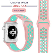 ProBefit Apple Watch Breathable Soft Silicone Sports Band - LANOOVA STORE