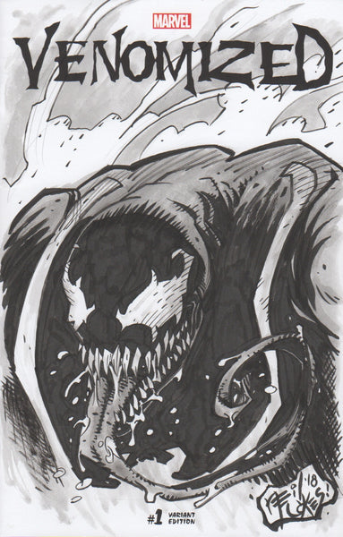VENOM Sketch Cover by Neil Vokes