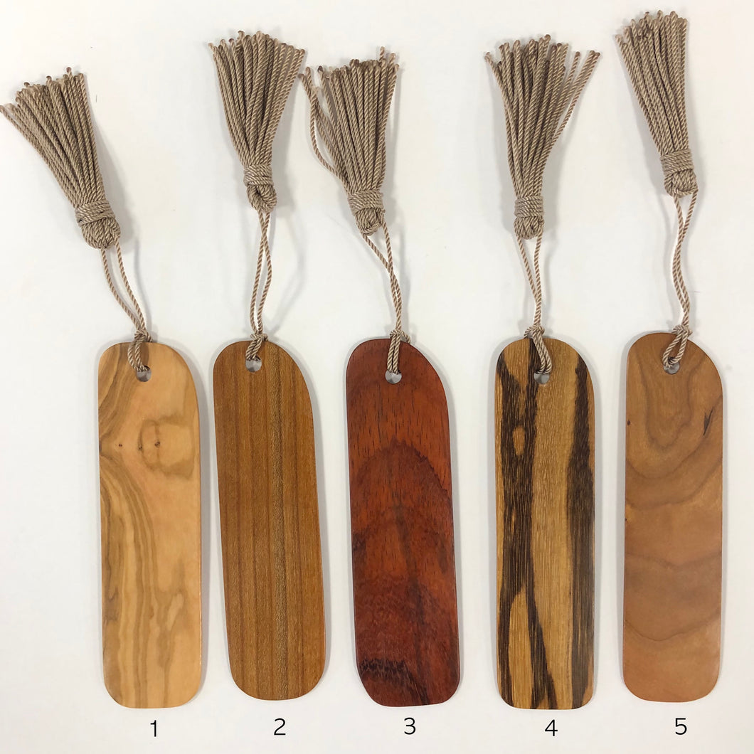 wood bookmarks, David Gieske