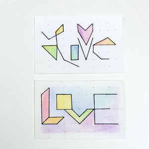 RAINBOW WORKSHOP: love