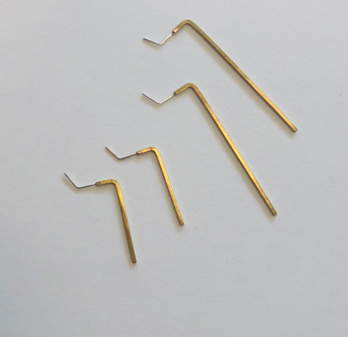 allen wrench earrings, Caitlin Clary