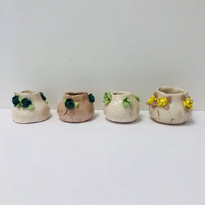 flower pots, Jennifer Masley
