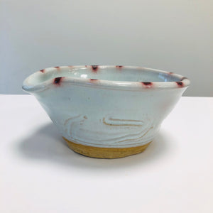 ceramic mixing bowl, Kirk Mangus