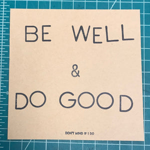 tiny posters for positive change