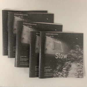 zine (Slow), Jason Turnidge