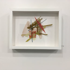 framed mixed-media pieces, Lesley Sickle