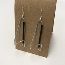 paperclip/straw earrings, Troppus Projects