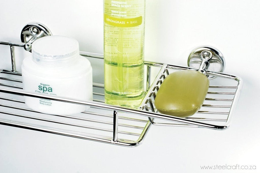 Classic Shelf & Soap Dish, Classic Shelf & Soap Dish, Bathroom Ware, Steelcraft, Steelcraft , www.steelcraft.co.za