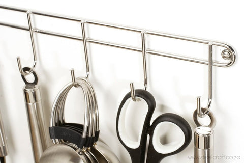 Hook Rack (6 Hooks), Hook Rack (6 Hooks), Kitchen Ware, Steelcraft, steelcraft.co.za , www.steelcraft.co.za
