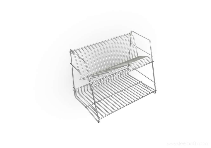 Dish Rack (2-tier), Dish Rack (2-tier), Kitchen Ware, Steelcraft, Steelcraft , www.steelcraft.co.za