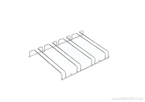 Wineglass Rail (4 rows) - Steelcraft